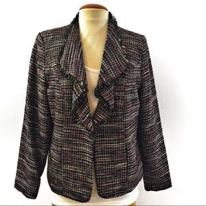 TanJay/ women/tweed jacket/ blazer Sz 10